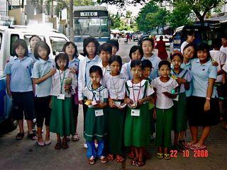 Neighboring School Visit