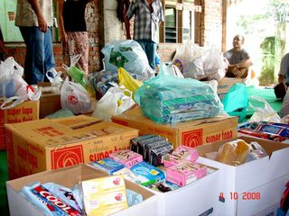 Donations we brought