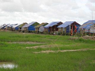Kyonemaw village huts